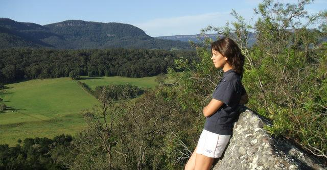 Kangaroo Valley  is a gently sloping wide valley with its own unique and mild climate good rainfall and a longer growing seasons