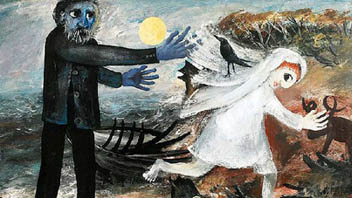 Click: Arthur Boyd (1920-1999) 'Bride Running Away' Sotheby's sold for the record price $1.68 million AU