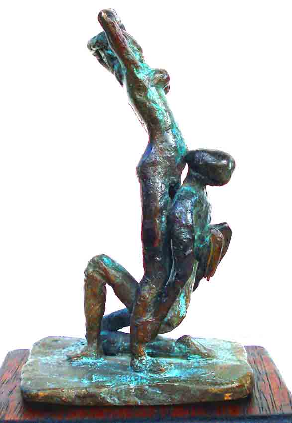 Click to Enlarge: Dino Rogliani, Psyche and Eros 1/1, Bronze 1/1