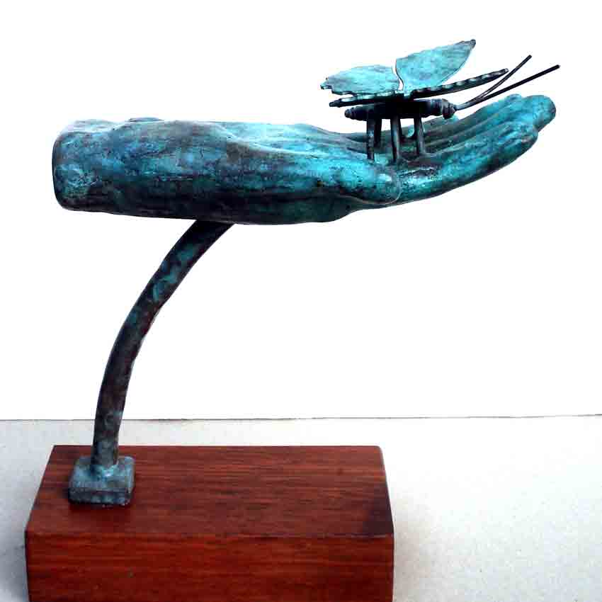 Click to Enlarge: Dino Rogliani, Freedom 1/1, Bronze 1/1