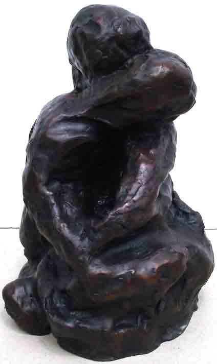 Click to Enlarge: Jamie Boyd, 30-10 Entwined, 23 by 15 cm, Bronze