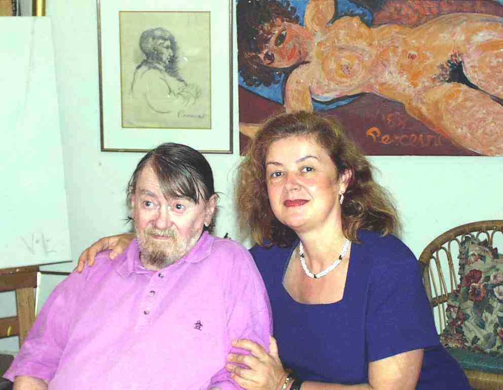 John Perceval and Aniela Kos
