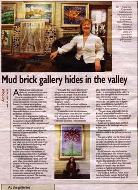 Photo: Southern Highlands, January 2006, The Illawarra Mercury, Arts Review, The Weekender, 26 March 2005 , picture Aniela