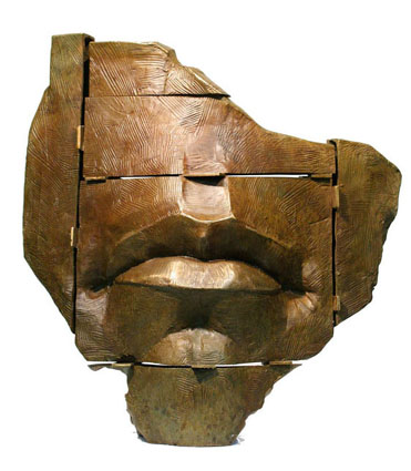 Click to Enlarge  'Mouth Piece' bronze